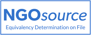 NGOsource Equivalency Determination on File